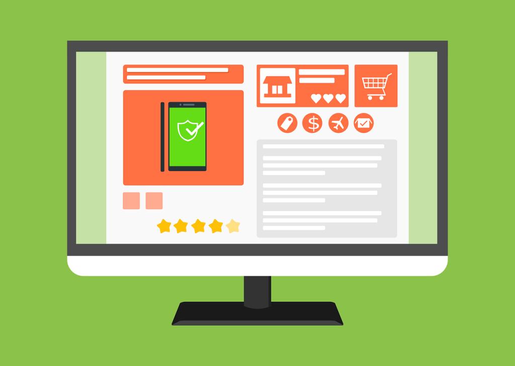 site e commerce, boutique en ligne, web