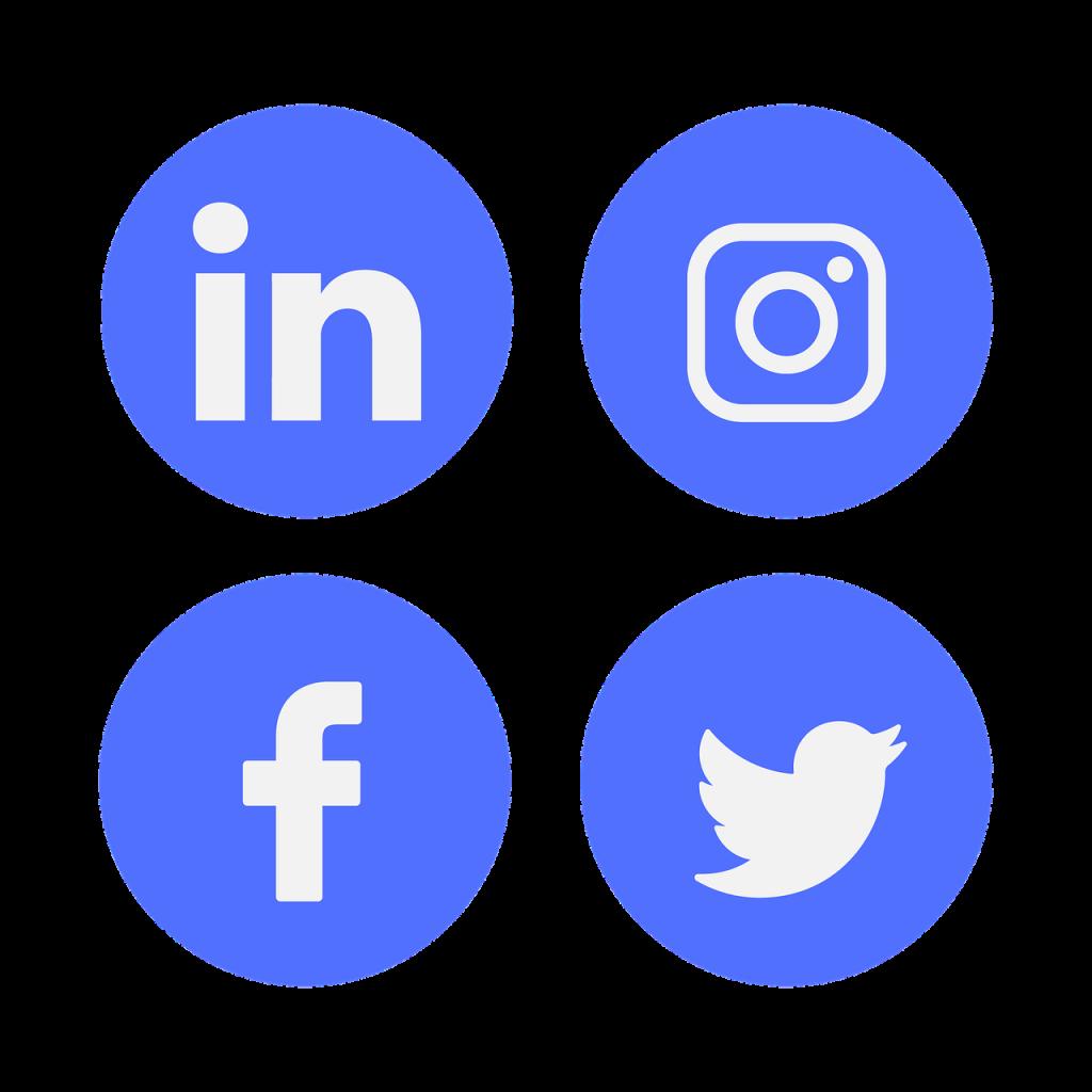 icône, médias sociaux, linkedin
